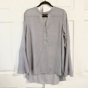 Simply Vera Wang Large L Womens tunic loose fit